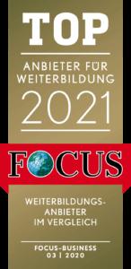 Focus Business Top Anbieter für Weiterbildung 2021