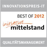 Innovationspreis-IT 2012 Qualitätsmanagement