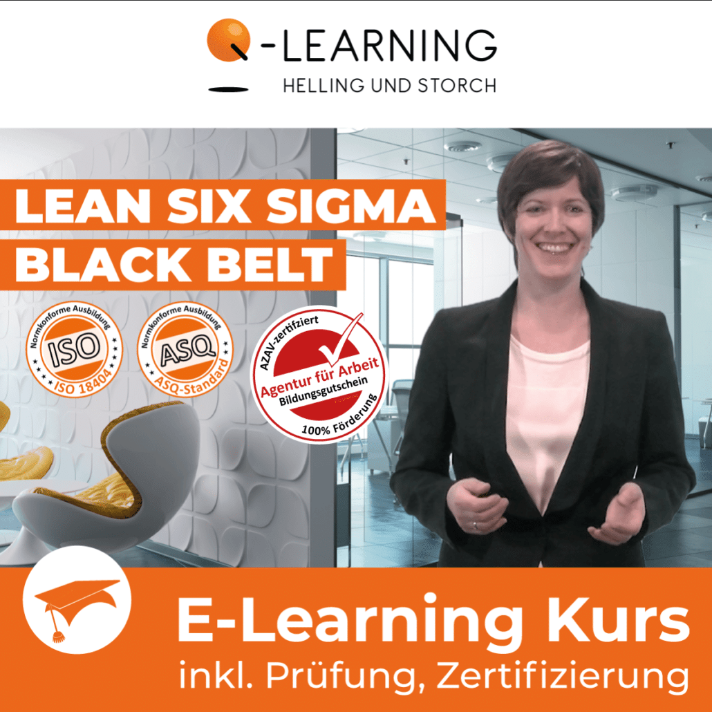 AZAV Landingpage LEAN SIX SIGMA Black Belt