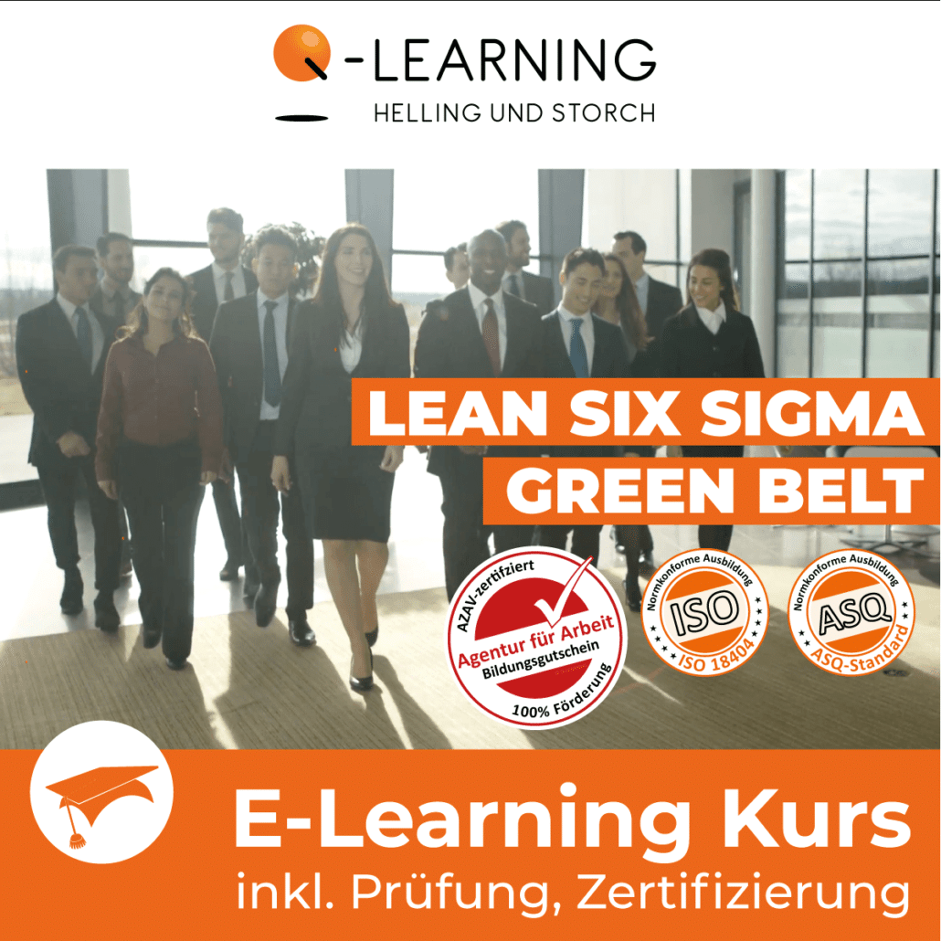 AZAV Landingpage LEAN SIX SIGMA Green Belt