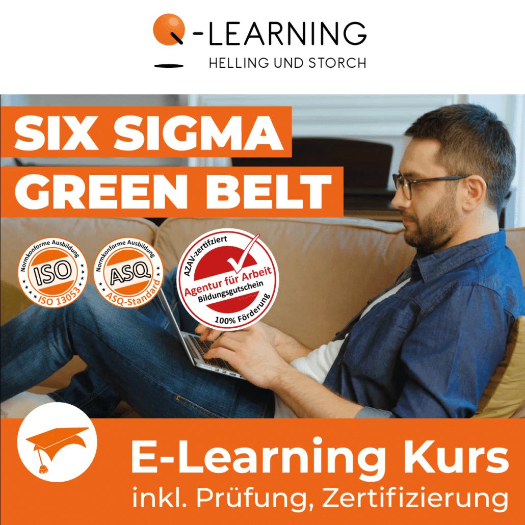 AZAV Landingpage SIX SIGMA Green Belt