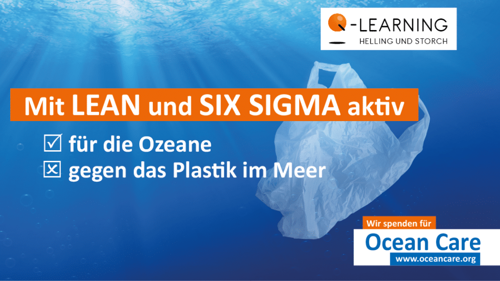 Q-LEARNING spendet für Ocean Care