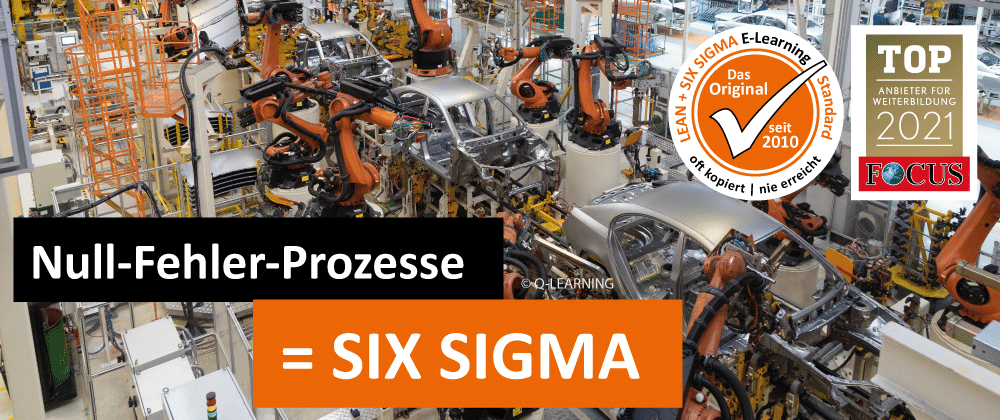 SIX SIGMA Null Fehler Prozesse