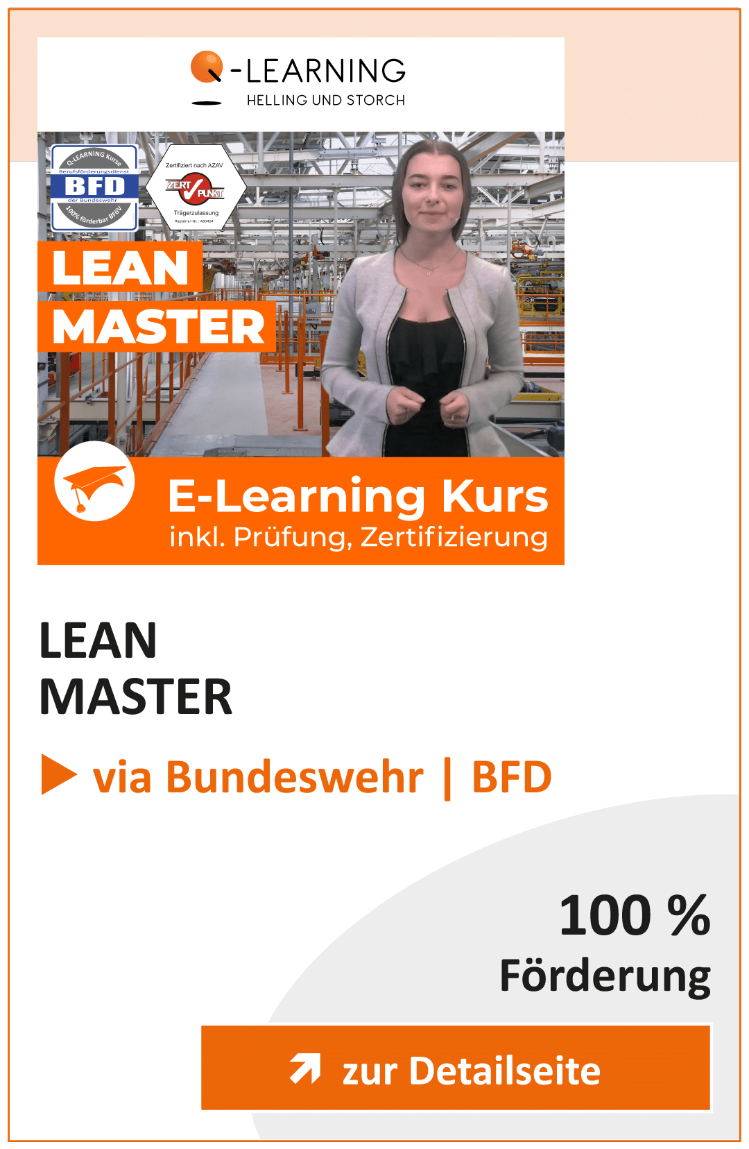 Produktbox LEAN Master BFD Info
