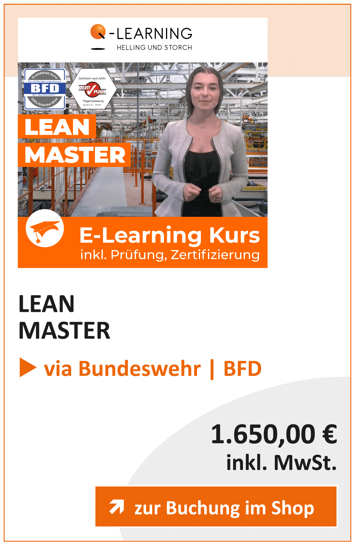 Produktbox LEAN Master BFD