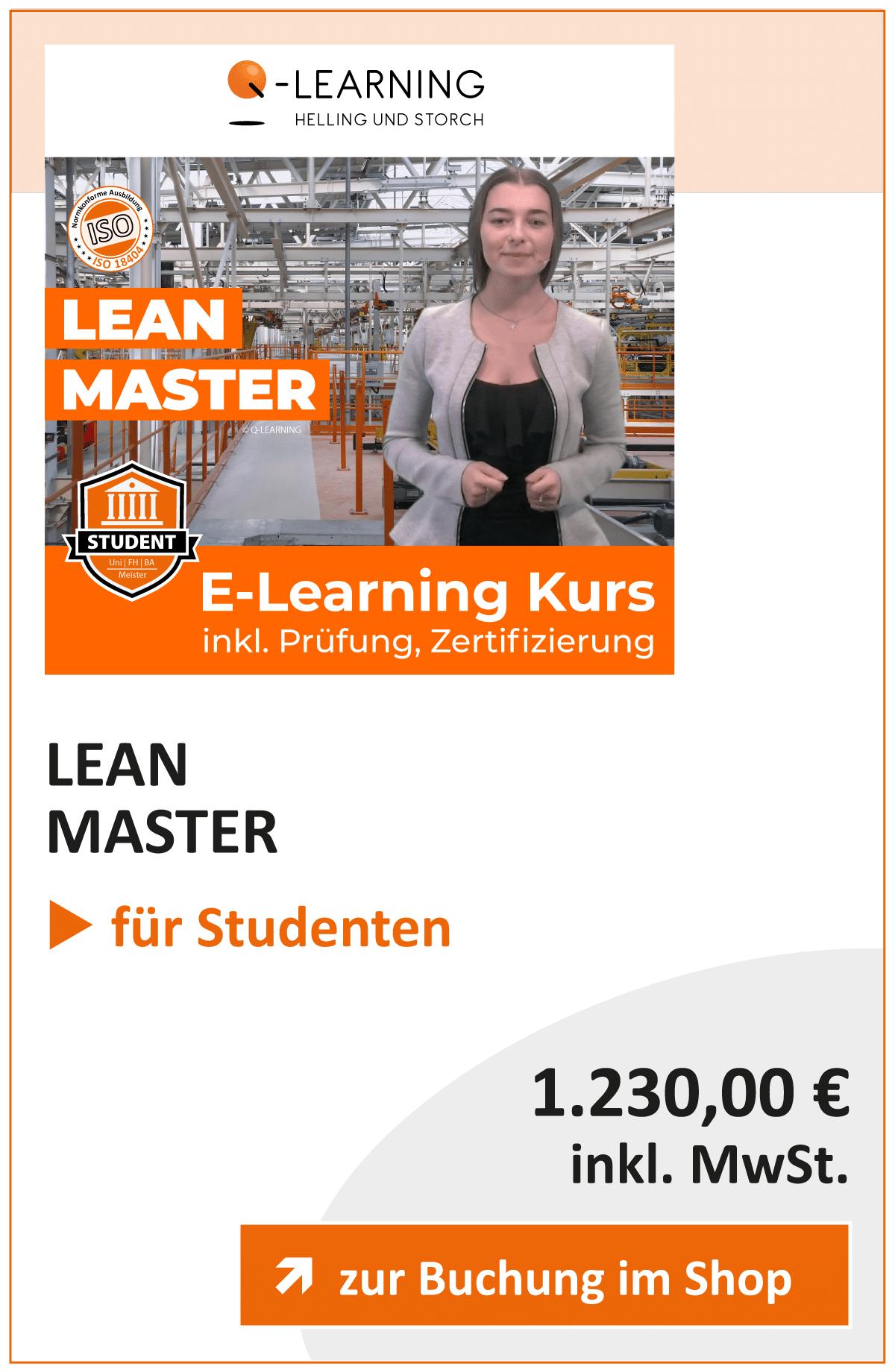 Produktbox LEAN Master Studenten
