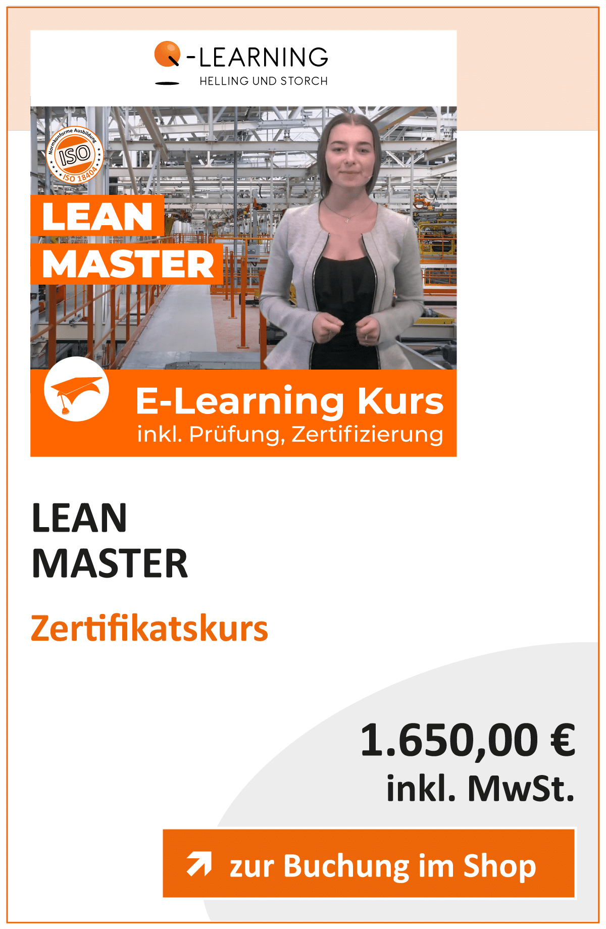 Produktbox LEAN Master