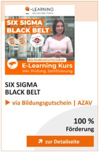Produktbox SIX SIGMA Black Belt AZAV