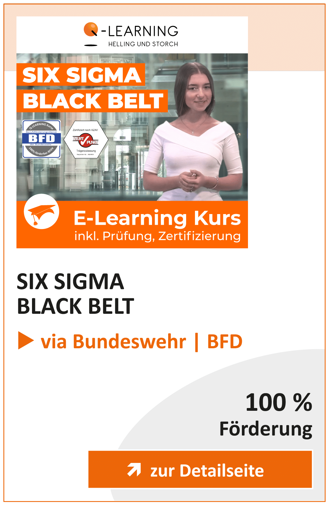 Produktbox SIX SIGMA Black Belt BFD Info