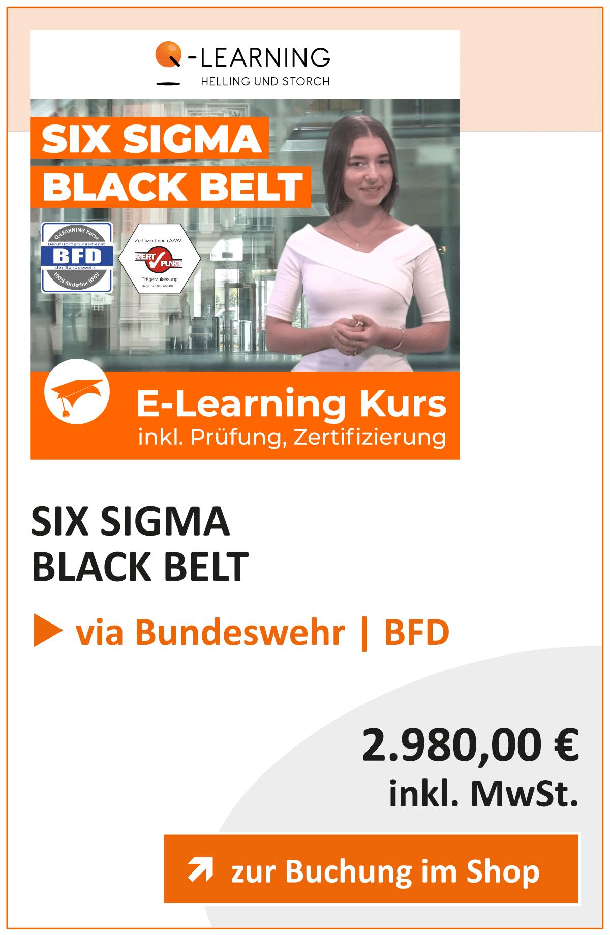 Produktbox SIX SIGMA Black Belt BFD