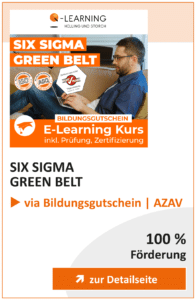 Produktbox SIX SIGMA Green Belt AZAV