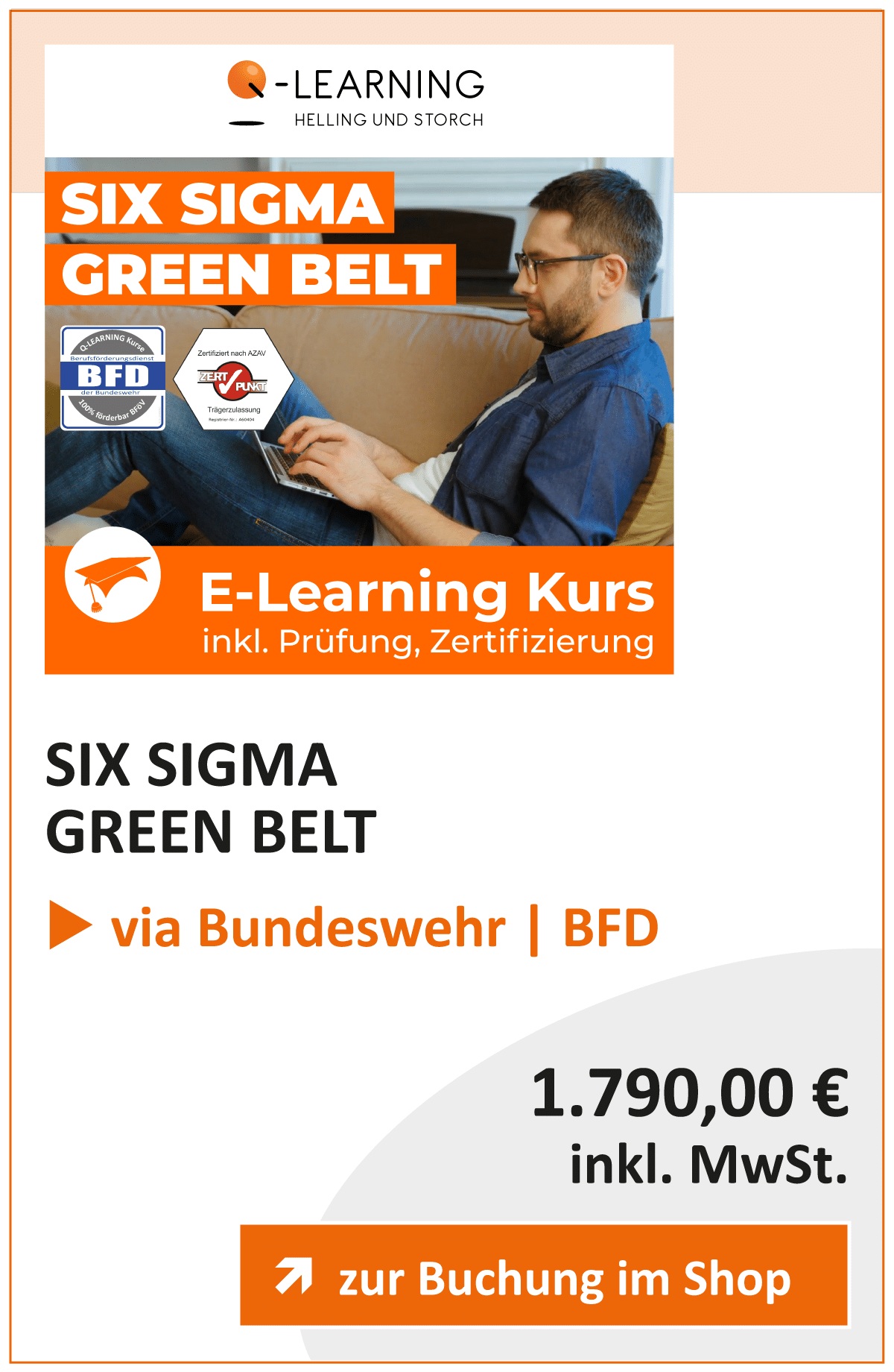Produktbox SIX SIGMA Green Belt BFD