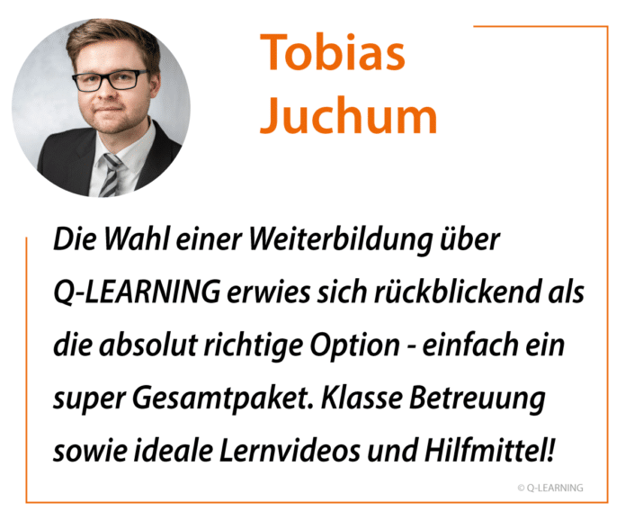 Feedback Tobias Juchum - SIX SIGMA Black Belt, LEAN Master