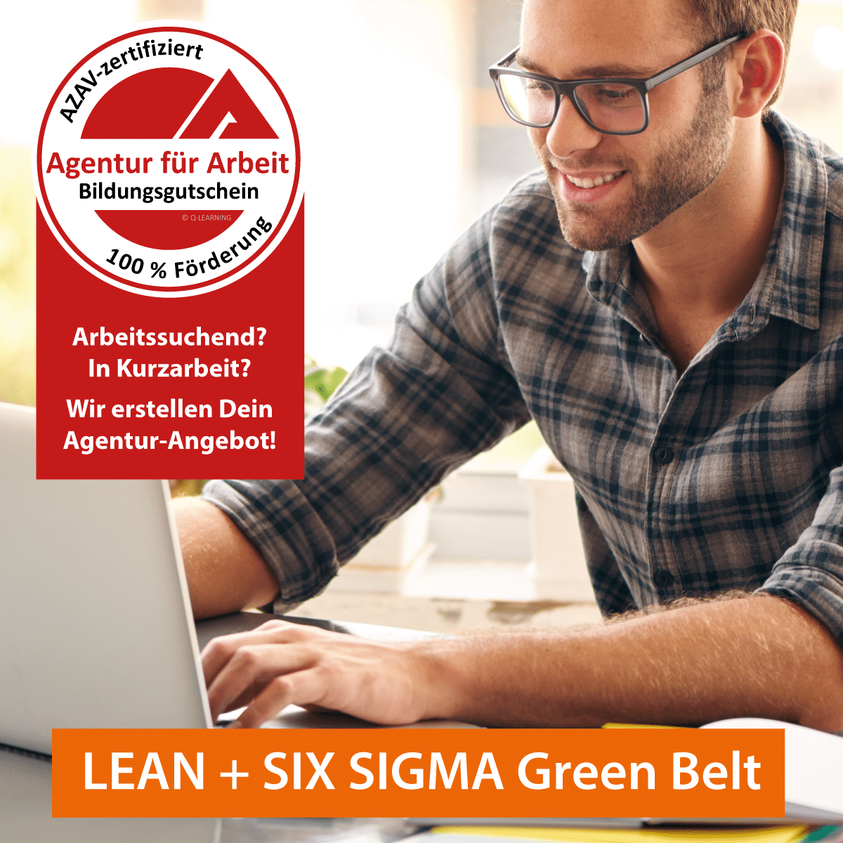 LEAN SIX SIGMA Green Belt AZAV Bildungsgutschein