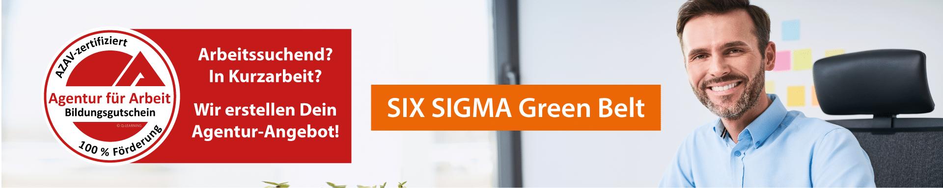 SIX SIGMA Green Belt AZAV Bildungsgutschein