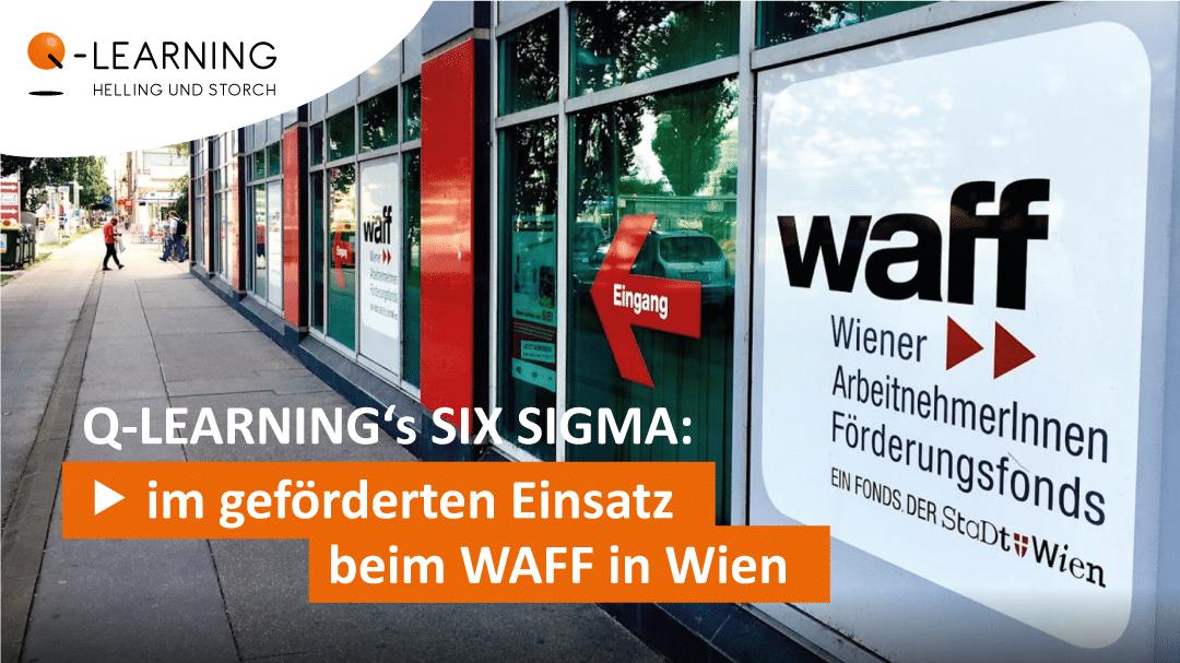 Q-LEARNING | geförderter Einsatz beim WAFF in Wien